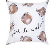 Designer Kissenhülle Croissant von Kera Till