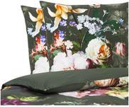 Baumwollsatin-Bettwäsche Fleur mit Blumen-Muster