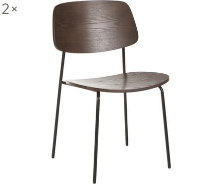 Holzstühle Nadja, 2 Stück