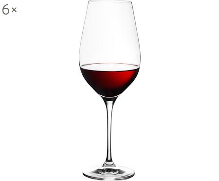 Kristall-Rotweingläser Harmony, 6 Stück