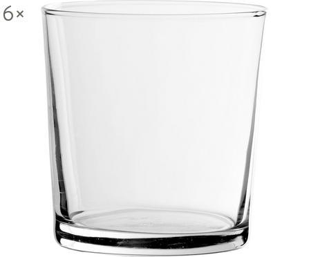 Klassische Wassergläser Simple, 6er-Set