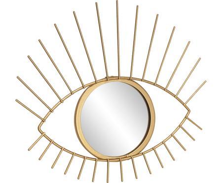 Runder Deko-Spiegel Auge mit Goldrahmen