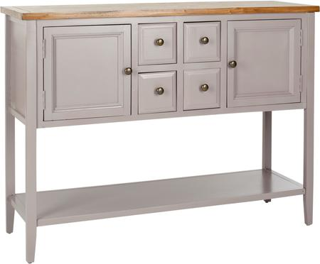 Graues Sideboard Amy im Landhausstil