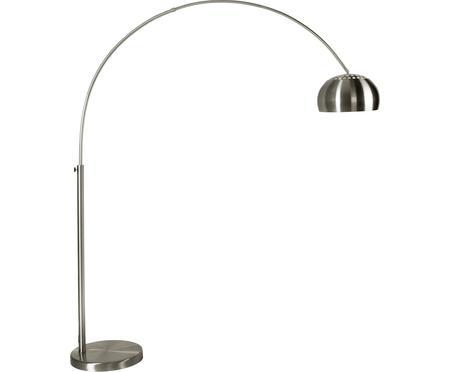 Grosse Bogenlampe Metal Bow in Silber