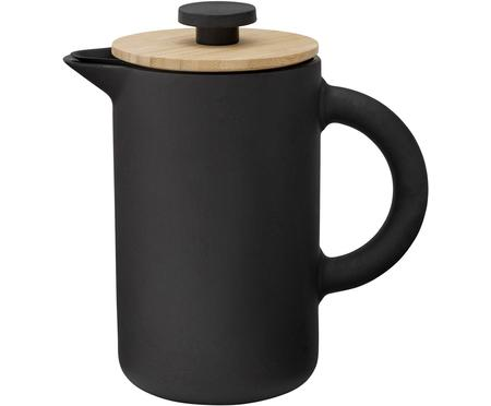 Kaffeezubereiter Theo in Schwarz matt