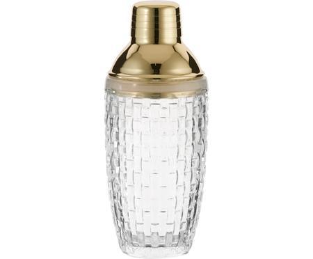 Cocktail-Shaker Jolin in Transparent/Gold