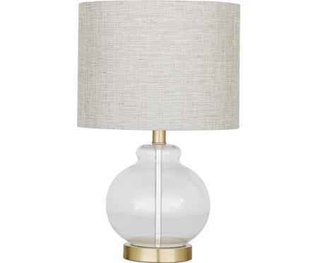 Tischlampe Natty mit Glasfuss