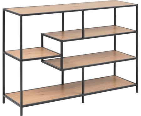 Standregal Seaford aus Holz und Metall