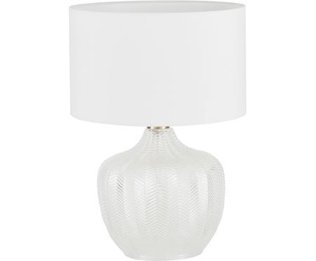 Tischlampe Sue mit Glasfuss