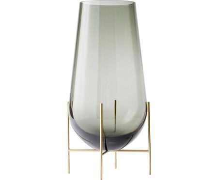 Mundgeblasene Design-Vase Échasse