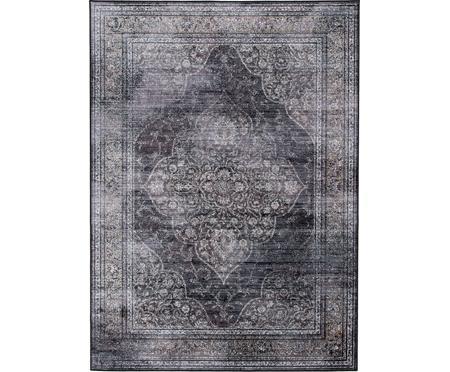 Vintage Teppich Rugged in Grautönen
