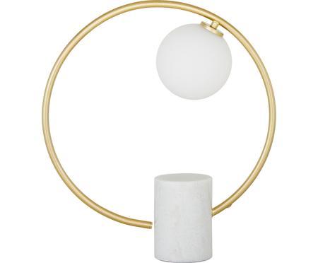 Glam-Tischlampe Soho mit Marmorfuss