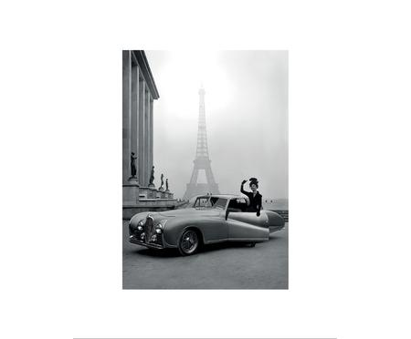 Gerahmter Digitaldruck France 1947