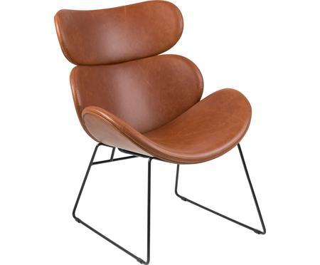 Moderner Loungesessel Cazar aus Kunstleder