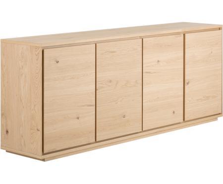 Sideboard Finn mit Türen und Eichenholzfurnier