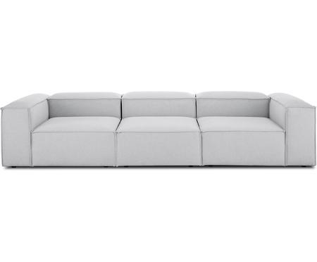 Modulares Sofa Lennon (4-Sitzer) in Hellgrau