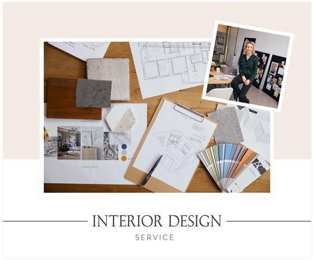 Interior Design Service für 1 Wohnbereich