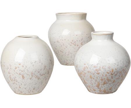 Vasen-Set Ingrid aus Keramik, 3-tlg.
