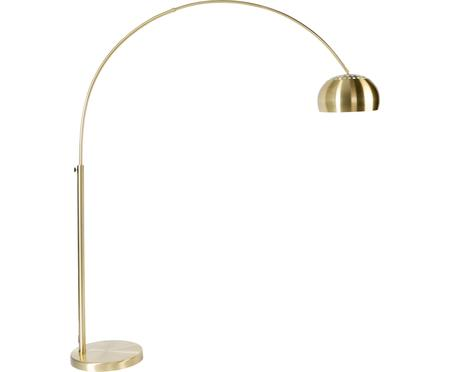Grosse Bogenlampe Metal Bow in Gold