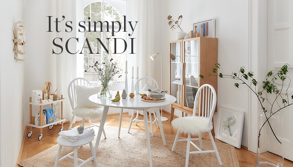 It's simply Scandi