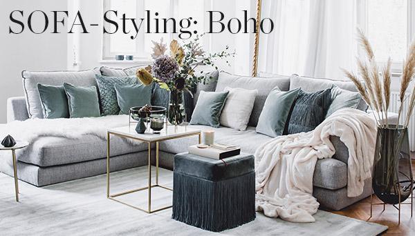 Sofa-Styling: Sage