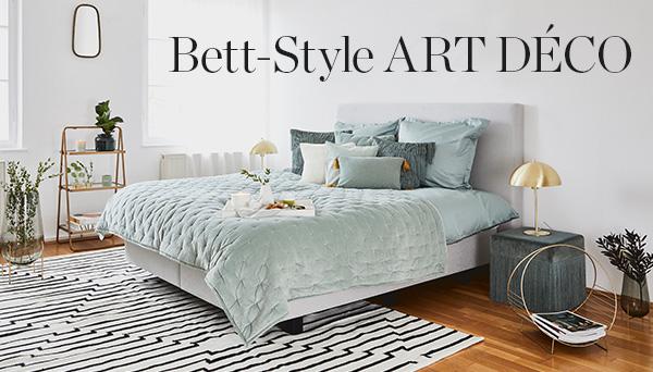Bett-Style Art déco