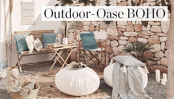 Outdoor-Oase Boho