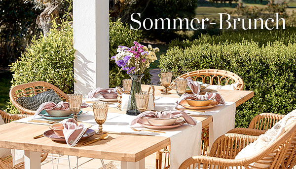 Sommer-Brunch