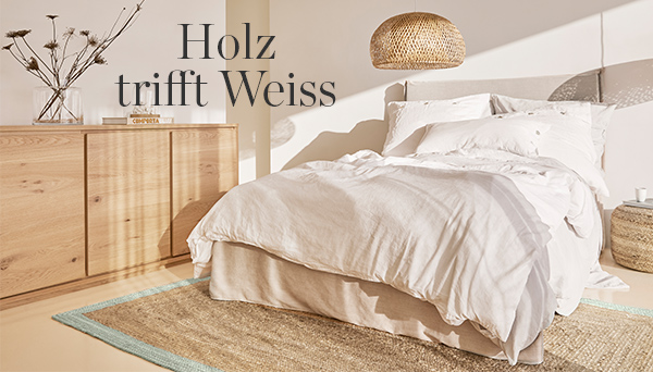 Holz trifft Weiss