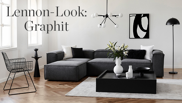Lennon-Look: Graphit