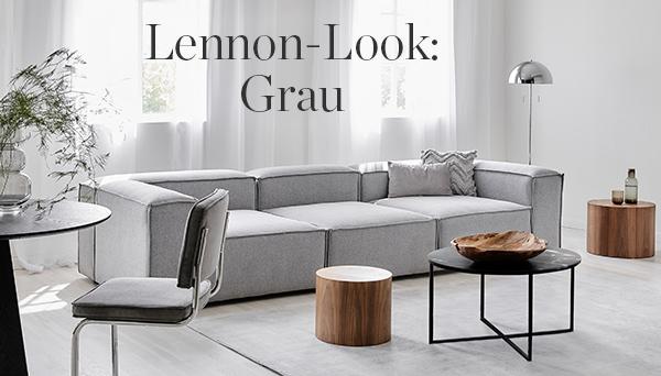 Lennon-Look: Grau