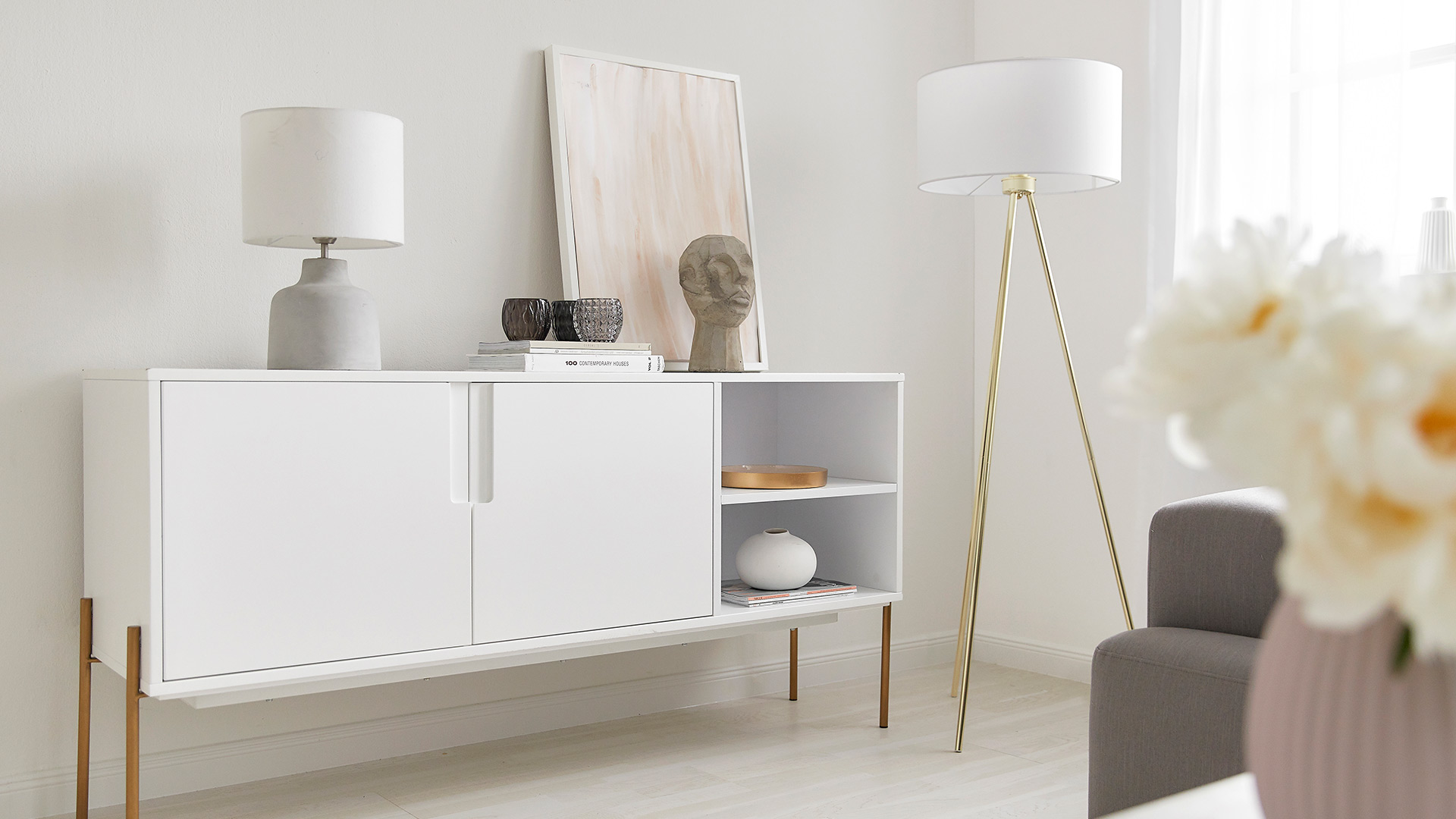 Sideboard-Styling
