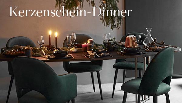 Kerzenschein-Dinner
