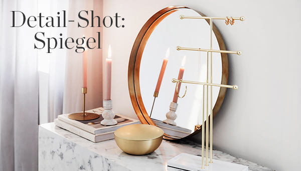 Detail-Shot: Spiegel