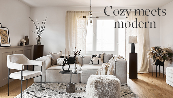 Cozy meets modern