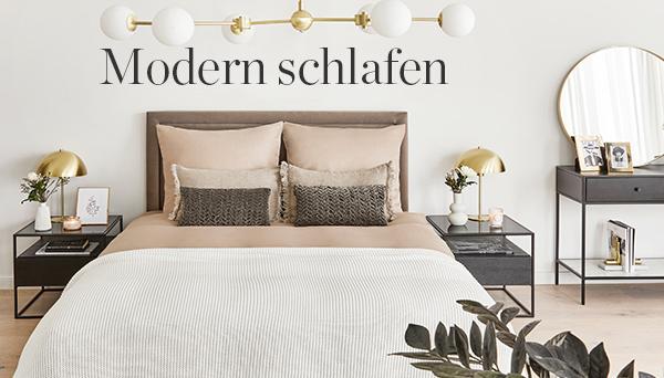 Modern schlafen