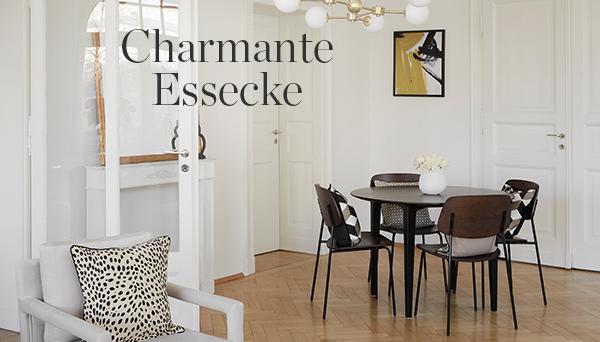 Charmante Essecke